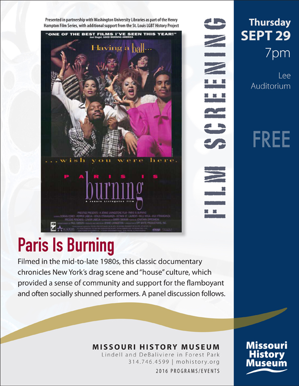 Paris Burning Event